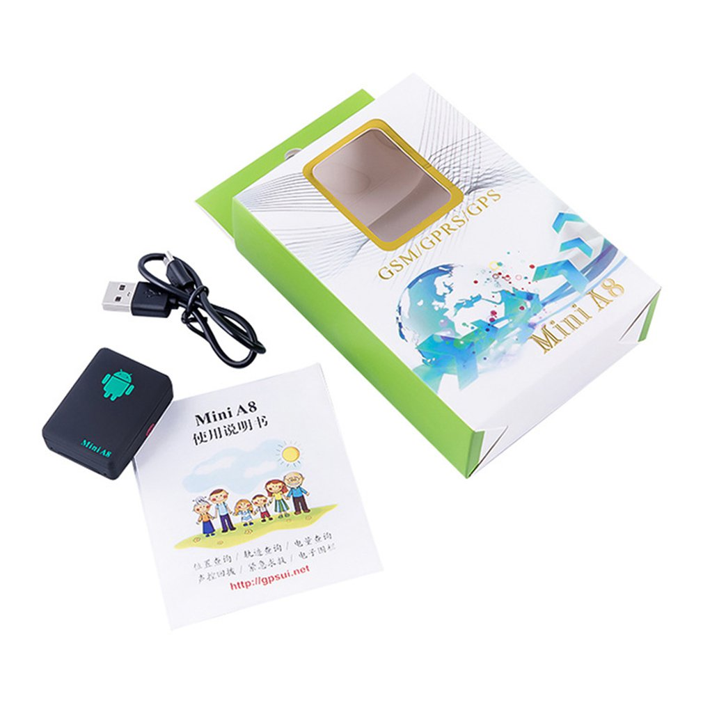 A8 Locator Elderly Children Anti-lost Device Gps Strong Magnetic Locator Portable Location Query Track Query