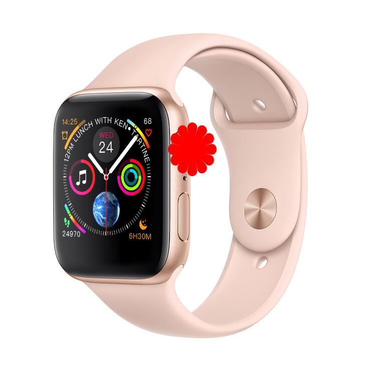 <font><b>IWO</b></font> 8 Plus <font><b>1</b></font>:<font><b>1</b></font> <font><b>MTK2502C</b></font> Wrist Smart Watch Wireless Charge Smartwatch 44MM Series 4 for Apple Watch Iphone Samsung xiaomi image