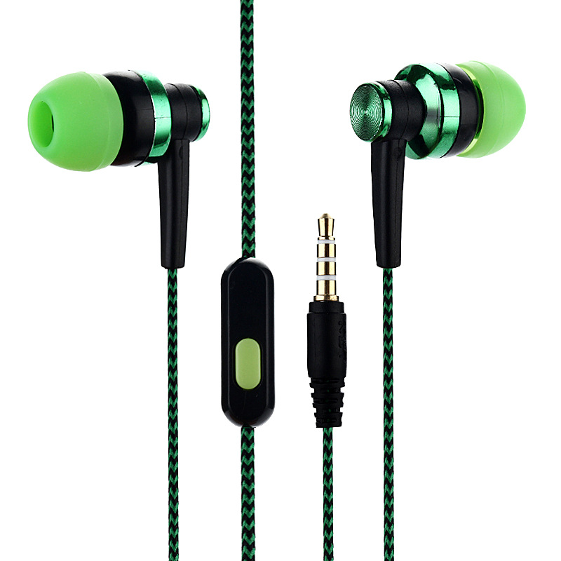 2020 New Candy colors Wired Headphones Bass Stereo Earbuds Sports Waterproof Gaming Earphone Music Headsets for All phone