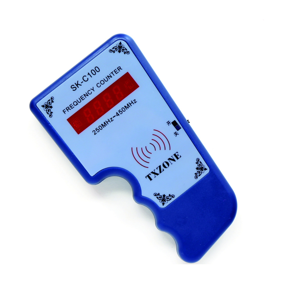 250MHz-450MHz Hand-held Remote Counter Frequency ,locksmith Tool,car Key Frequency Tester, Frequency Meters
