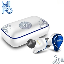 Mifo O5 Chinese style design Bluetooth Earphone 5.0 Balanced Armature True Wireless Earbuds waterproof Sport Earphones