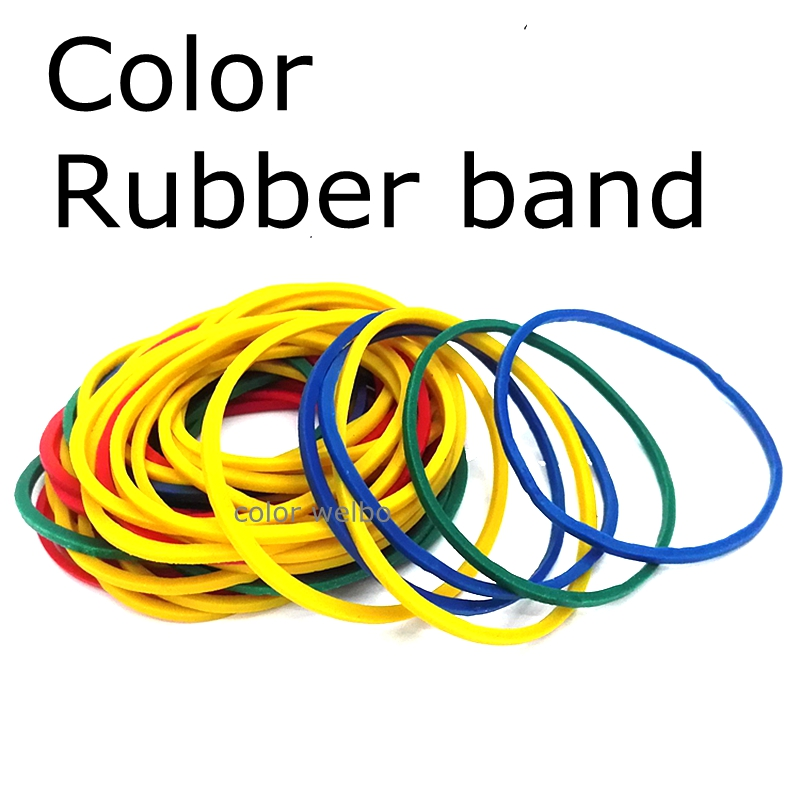 40MM+ SIZE Rubber Band  High Elastic Color A Fixed Bundle Of Money And Stationery Holder Rubber Bandage For Money