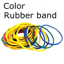 Купить с кэшбэком 40MM+ SIZE rubber band  High elastic color A fixed bundle of money and stationery holder Rubber bandage for money