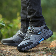 Men Profession Hiking Sneakers Waterproof Anti-Skid Outdoor Trekking Shoes High Quality Climbing Sports Shoes Plus Size 39~47 camel brand popular outdoor sports hiking shoes for men waterproof anti skid climbing fishing camping trekking sneakers