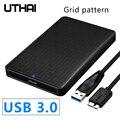 Утхай G10 USB 3,0 мобильный жесткий диск коробки 2,5 дюймов SATA HDD коробка жесткий диск SSD сдвижной крышкой Сетчатая текстура Мобильный Внешний кор...