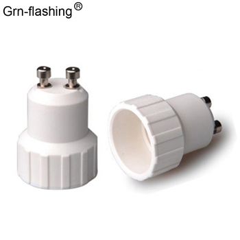 1Pcs GU10 to E14 Fireproof Material lamp Holder Converters Socket Conversion Adapter light Base Type Bulb