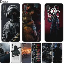 Mobile Phone Case For Huawei Y5 Y6 Y7 Y9 Mate 10 20 Pro Nova 2i 3 3i 4 5i Lite Cover Voltron Rainbow Six Siege YuGiOh Shell(China)