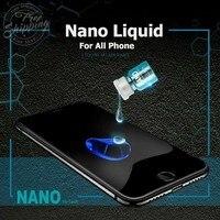 Nano Líquido Protector de pantalla para iPhone 12 11 Pro Max X 7 8 PLUS, Samsung S20 S10 S8 S9 Nota 10 20 invisible Universal película