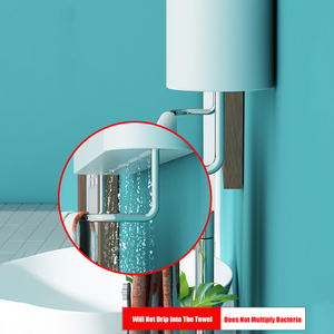 Image 5 - マウントバスルームオーガナイザー棚シャンプー化粧品収納ラックバスキッチンタオルホルダー家庭用品浴室アクセサリー