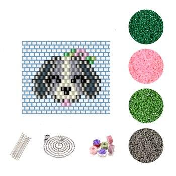 Collar de perro bonito FAIRYWOO para mujer, cuentas de Miyuki, Kit de accesorios DIY, juego de joyería dulce, Gargantilla de animales hecha a mano, venta al por mayor