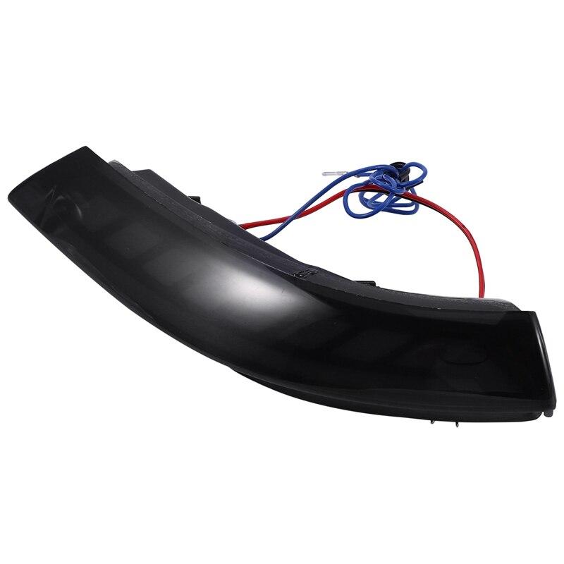Автомобильный светодиодный светильник с динамическим поворотом, мигалка, последовательное боковое крыло, зеркало заднего вида, индикаторная лампа для Cadillac ATS ATS V 2013 2 - 2
