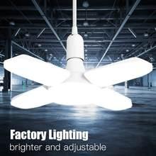 Luz Led para garaje, 110V, 220V, lámpara para Taller, Bombilla E27, lámparas de iluminación Industrial para almacén de garaje, luces de fábrica