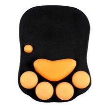 лучшая цена Cats Claw Shape Soft Wristband Non-slip Silicone Mouse Pad Wrist Rests Wrist Cushion OUJ99