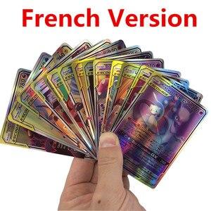 French Version Pokemones Card Featuring 300 Pcs (140GX 60TAG TEAM 49V11VMAX 20EX 20MEGA)
