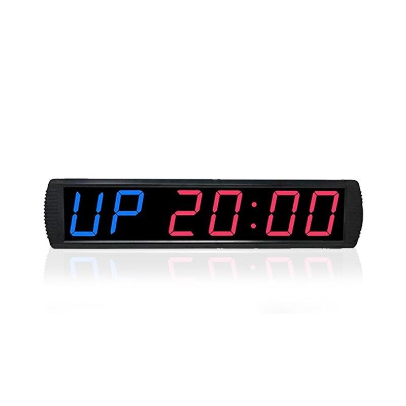 Hot selling ginásio exercício de fitness workout gym temporizador cronômetro relógio digital LED relógios