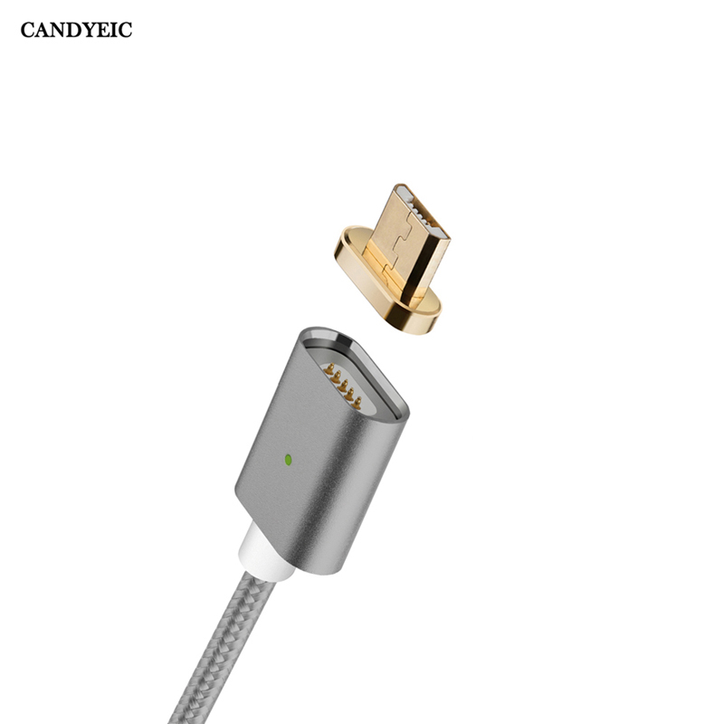 CANDYEIC Magnetic Data Micro USB Cable For Android LG G3 4 K10 Nexus 4 5 5X 6, Magnetic Charger For Huawei P7 P8 Mate8 Honor 4c|charger for samsung|metal charger|charger for - AliExpress