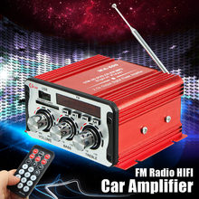 Mini Car Amplifier Motorcycle Home Boat Auto Stereo Audio Am