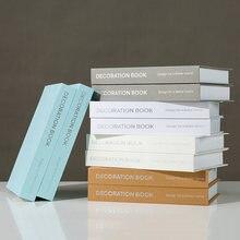 Простые скандинавские современные фальшивого книги декоративное