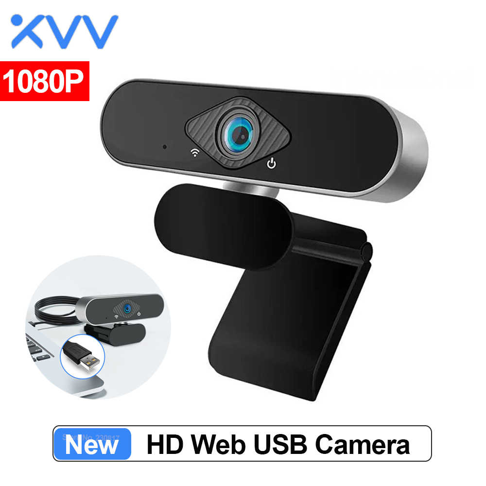 Xiaovv 1080P Webcam Met Microfoon 150 ° Groothoek Usb Hd Camera Laptop Computer Webcast Voor Zoom Youtube Skype web Cam