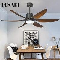 66 led fashion ceiling fan lamp with remote control industrial dc ceiling fan light chandelier fans for home ventilador de teto