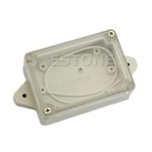 Boîtier transparent étanche en plastique pour projets électroniques H02, 85x58x33MM, Promotion 828