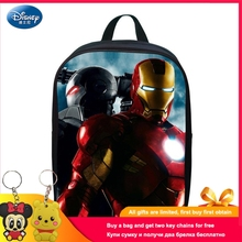 Disney 2019 Avengers Ilron Man Kindergarten Schoolbag 2-5 Years Old Baby Backpack Waterproof Bag Primary School Children bag