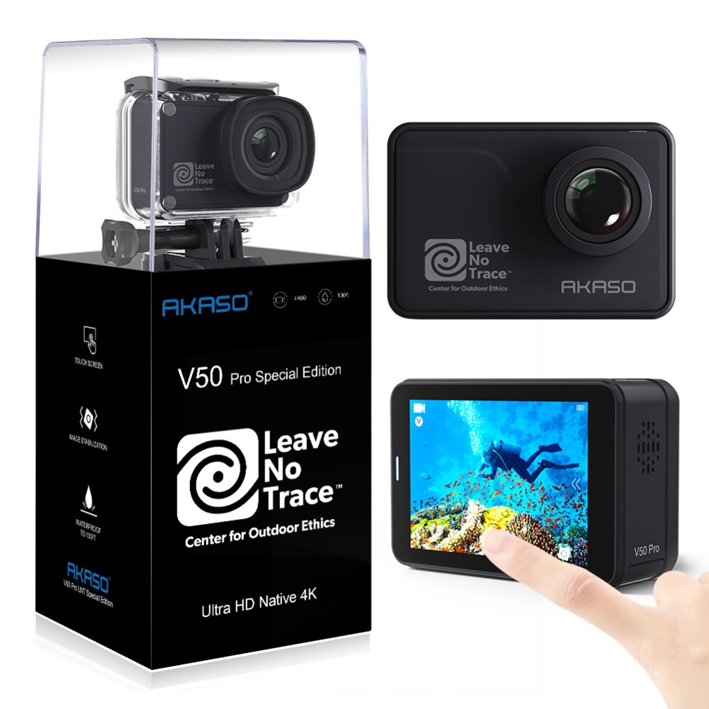 V50 Pro SE Action Touch Screen Sports Waterproof Camera WiFi Remote Control