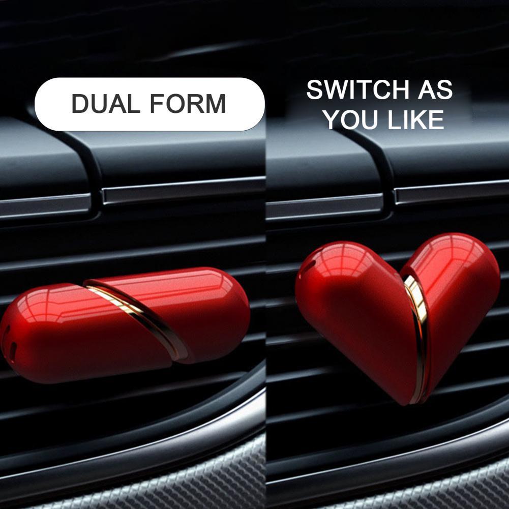 Heart Aromatherapy Car Perfume