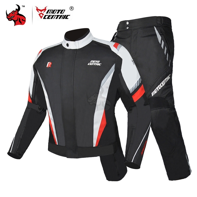 MOTOCENTRIC Motorcycle Jacket Suit Windproof Riding Motocross Jacket Protective Gear Motorbike Clothing Waterproof Chaqueta Moto