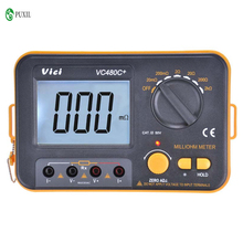 Millimeter Digitale Meter Hohe Präzision Multimeter Milliohm Digital Multimeter Niedrigen Widerstand Tester VC480C