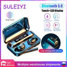 F9 tws אלחוטי אוזניות V5.0 מגע bluetooth אוזניות LED תצוגת ספורט אוזניות עם 2000mah כוח בנק מיקרופון משחקי אוזניות