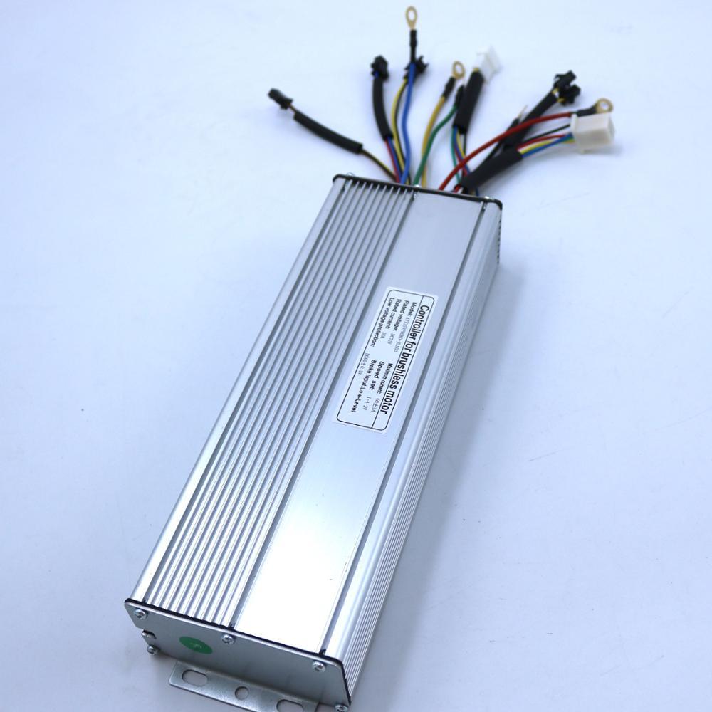 60 فولت 72 فولت 2000 واط 60Amax فرش موتور تيار مستمر تحكم كونتنغ Ebike شرط موجة تحكم