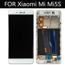 tested! for Xiaomi Mi5s MI 5S LCD Display+Touch Screen+frame Digitizer Glass Lens Assembly Replacement 5.15
