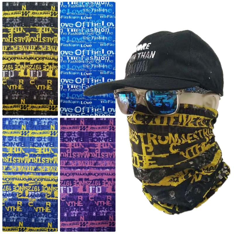 New Outdoor Sports Women Men Mouth Face Mask Fashion Sports Color Boys Girls Balaclava Headband Winter Mask Neck Warmer Scarf