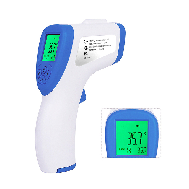Digital Infrared Thermometer Temperature Gun Non-Contact Temperature Gauge