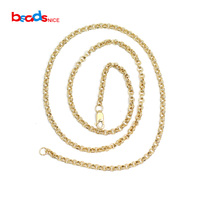 Beadsnice ID40144smt2 Gold Filled Chains Necklace Custom Delicate Pendant Chain Jewellery Wholesale Supply