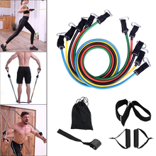 New Sport Equipment  Resistance Bands Yoga Exercise Fitness Band Rubber Loop Tube Gym Pilates Brick