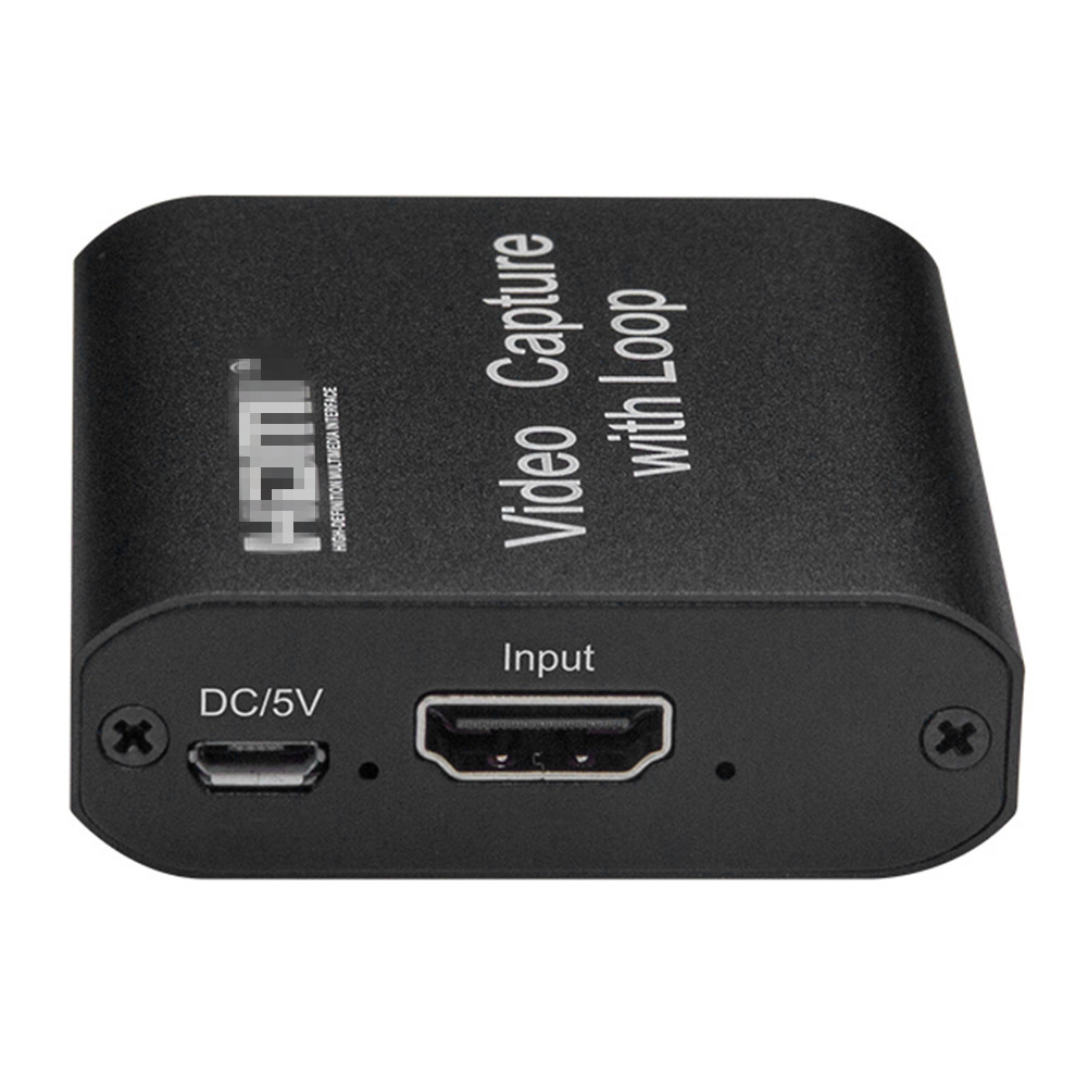 HDMI-compatible Capture Cards 1080P 4K USB 2.0 Video Recorders Boxes Game Live Streaming for Household Computer Safety Parts 5