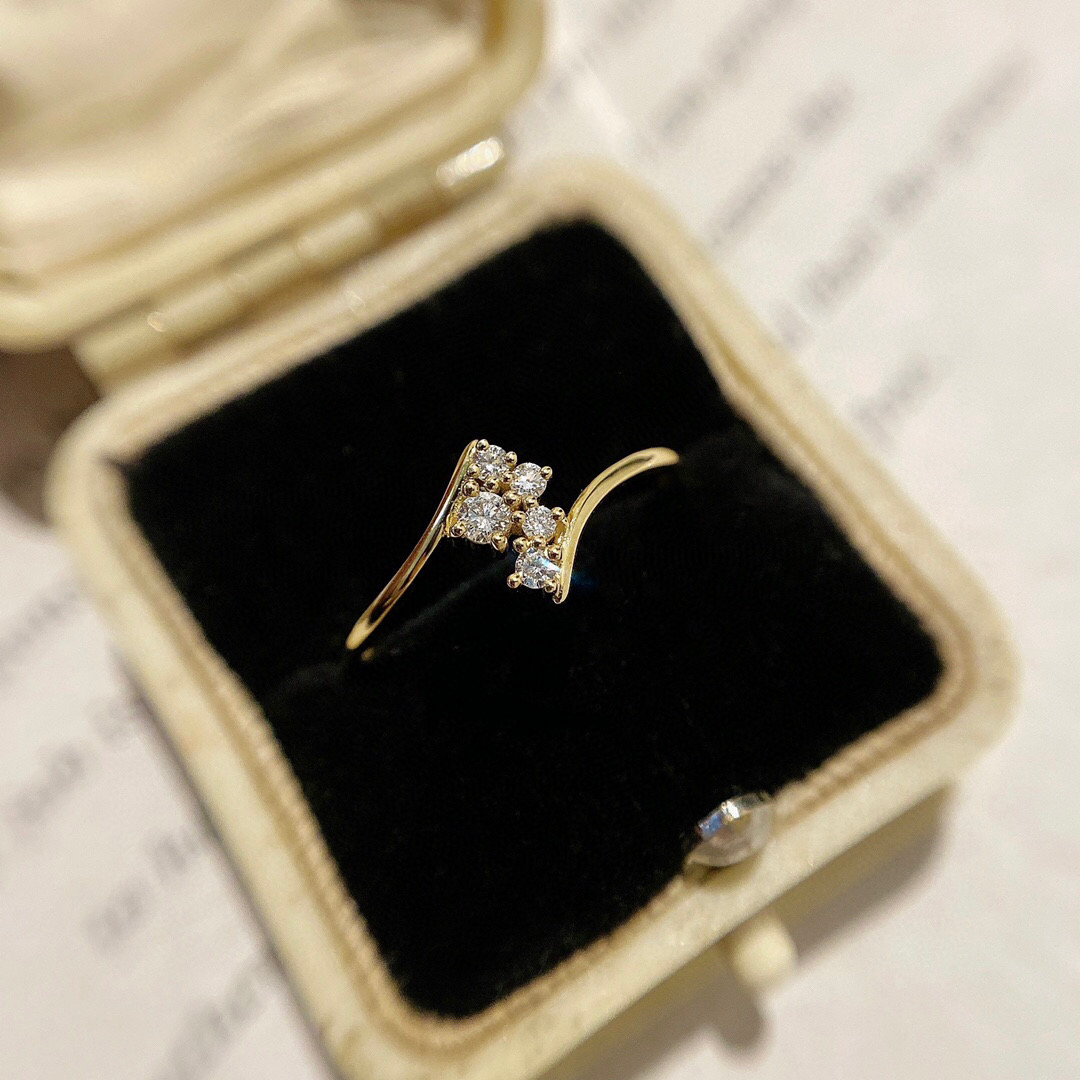 18K Solid Yellow Real Gold Jewelry(AU750) Women Popular Beauty Sharing Private Server...