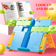 Book Stand Holder Portable Foldable Bookends Bookstand Reading Support For Student Children Writing Bracket Office Accessories