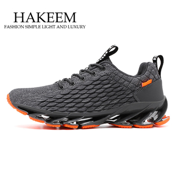 Men Shoes Casual Shoes Men Fashions Male Mesh Shoes Men Sneakers Big Size Zapatillas Hombre Blue 2020 New sport Blade Shoes