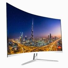 Бестселлер ПК 1k, 2k монитор 144 Гц 27 дюймов игровой monitorCompetition изогнутые Широкоэкранный IPS/HDMI/VGA Вход,