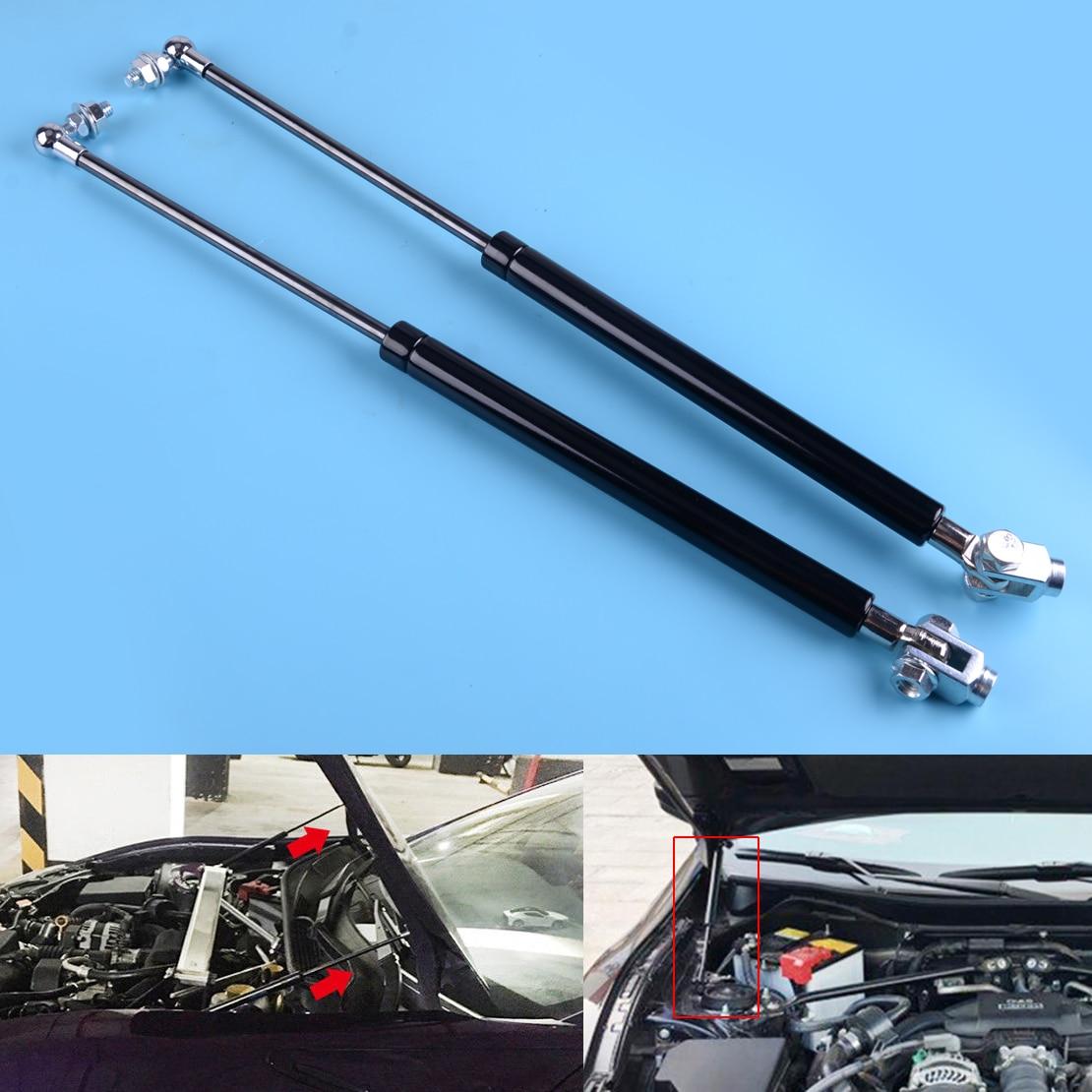 DWCX Auto Stahl Motor Hood Shock Strut Heber Fit für Toyota 86 Subaru BRZ 2013 2014 2015 2016 2017