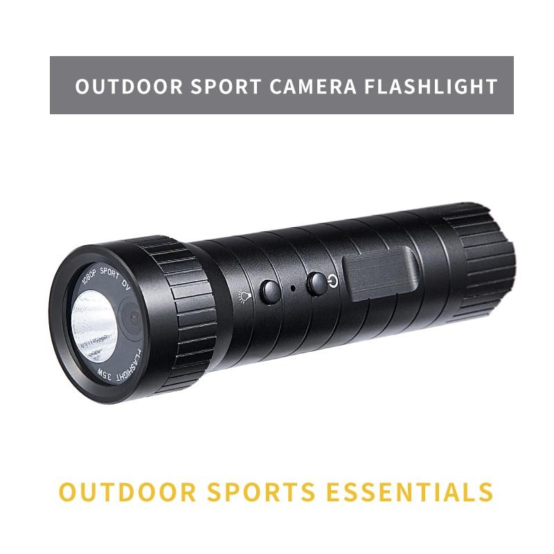 Мини Экшн-камера 1080P Мини на шлем для спортивной камеры Hd широкий угол движения DV камера водонепроницаемый фонарик циклическая запись