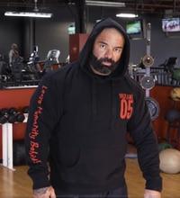 Mutant Mannen Winter Wol Losse Jas Singlets Sweatshirts Heren Fleece Hoodies Stringer Bodybuilding Fitness Shirts Geschikt