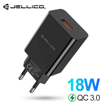 Jellico carregador usb 18 w carga rápida 3.0 carregador do telefone móvel para o iphone rápido qc 3.0 carregador para huawei samsung galaxy s9 + s10