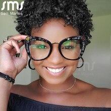 2021 New Cat Eye Glasses Women Men Computer Eyeglasses Optical Eye Glasses Anti-blue Light Sunglasses Eyewear UV400