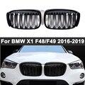 Передний бампер для BMW X1 F48 F49 2015-2019, 1 пара