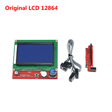 3D printer replacement parts LCD12864 display compatible Ramps board liquid crystal smart controller Reprap 12864 lcd unit