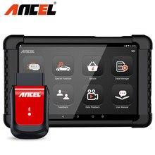 ANCEL herramienta de diagnóstico de coche X6 OBD2, escáner con Bluetooth, aceite ABS EPB DPF, inyector de acelerador, Airbag, reinicio de sistemas completos, escáner OBD2